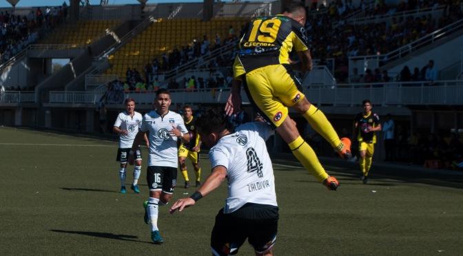 Las fotos de San Luis vs. Colo Colo